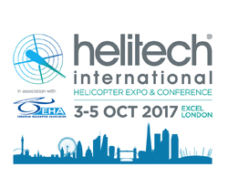 DART Aerospace steps foot in London to exhibit at the famous 2017 Helitech International Helicopter Show!