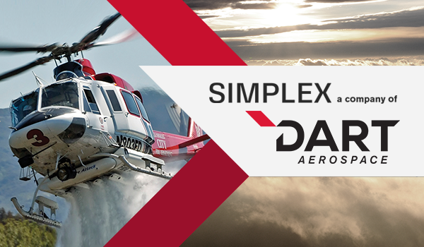 DART Aerospace Acquires Portland-Based Aerial Firefighting Mission Equipment Leader Simplex Aerospace