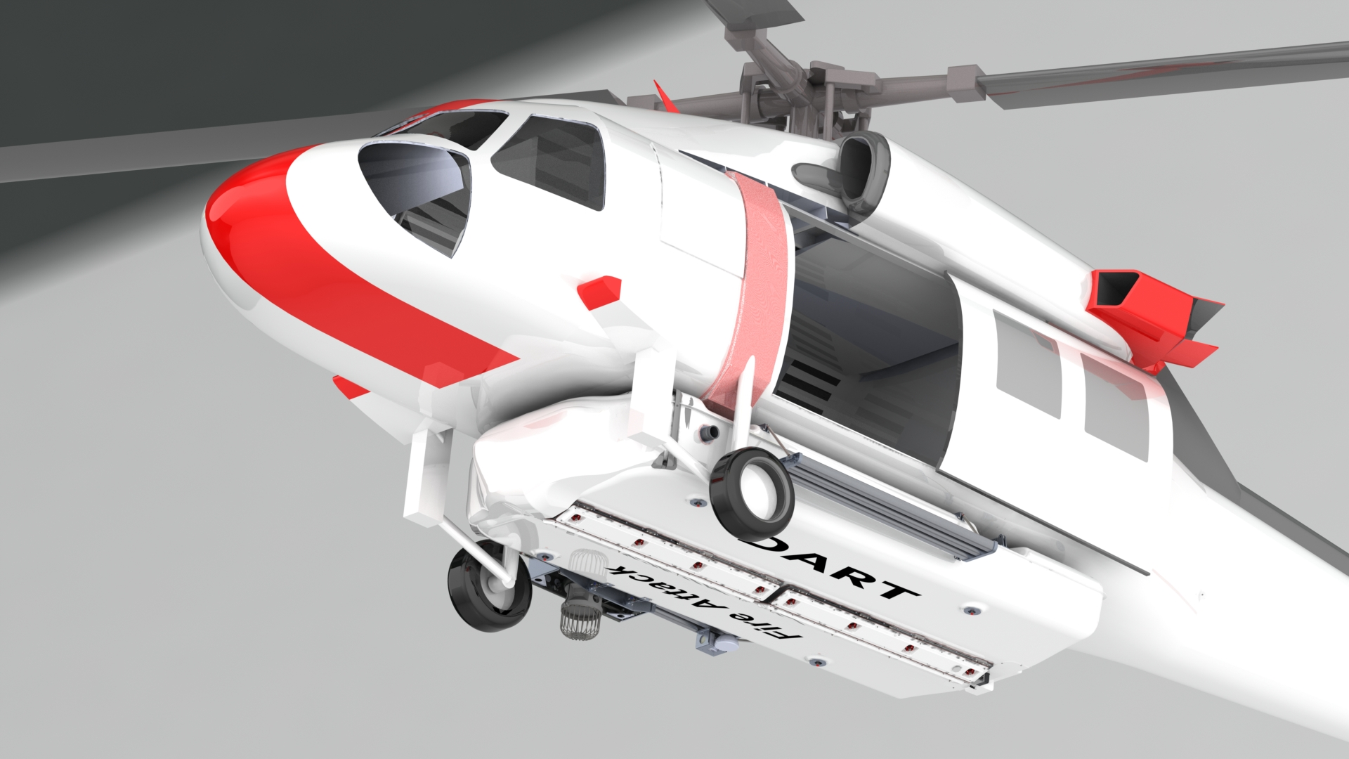 DART Aerospace announces large firefighting supply agreement for Fire Attack® Systems for the FIREHAWK