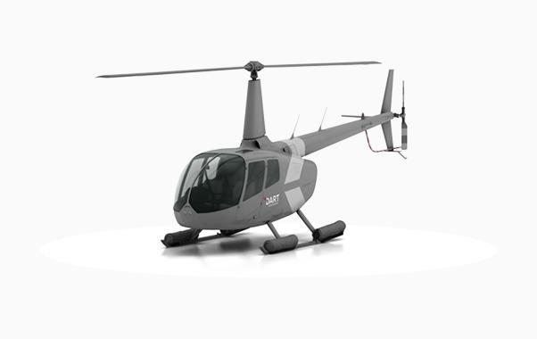 R66 Heli-Utility-Basket™ - RH side | DART Aerospace