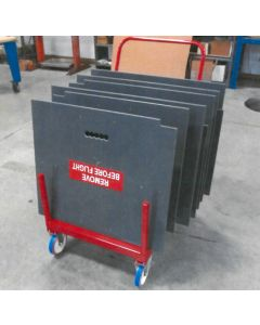 AW139 Heavy Duty Maintenance Floor Boards & Cart