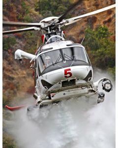 AW139 Fire Attack System (w/ foam)