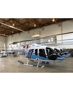 Bell 505 Emergency Float System Removable Provisions