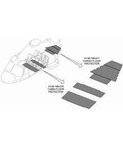 Cabin Floor Protector Kit - Passenger Cabin