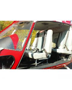 Dual High-Back Seat Installation - Energy Attenuating Seat Compatible