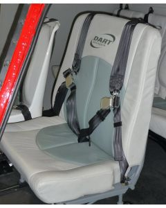 Dual High Back Seat Assembly- Energy Attenuating Seat Compatible